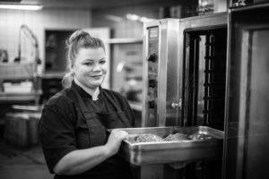 Sweet pepper catering keittiömestari Virve Räisänen